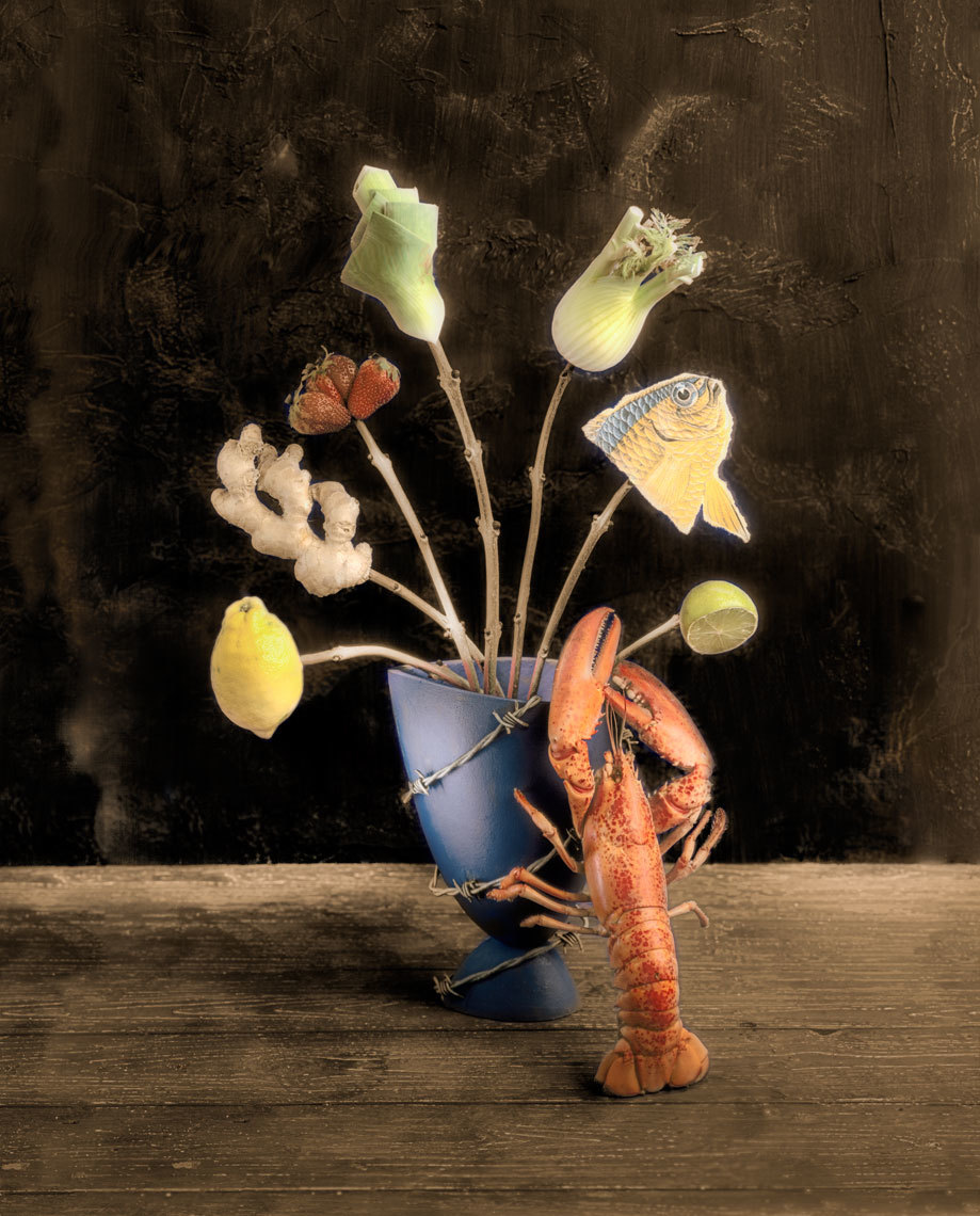 The Lobster that mistook herself for a Florist